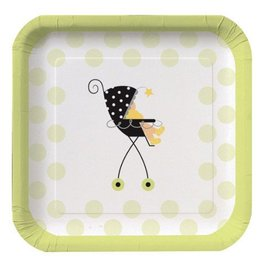 Plates-BEV-Stroller Fun-8pkg-Paper - Discontinued
