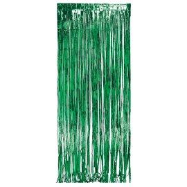 Door Fringe-Foil-Green-1pkg