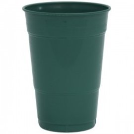Plastic Cups-Hunter Green-20pkg-16oz