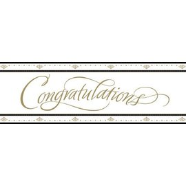 Banners- Congratulations-65'' x 20''