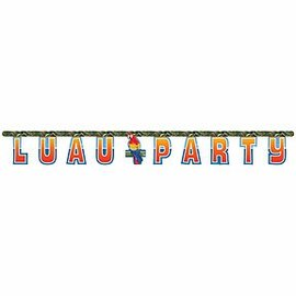 Banner-Luau Party-5.75ft