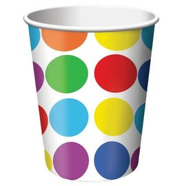 Paper Cups-Lets Have a Party-8pkg-9oz - Discontinued