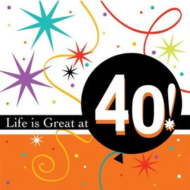 Napkins-BEV-Life is Great at 40-16pkg-2ply