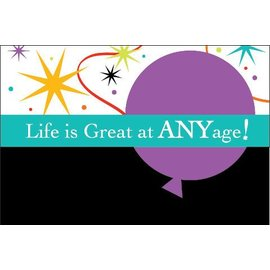 Invitations-Life is Great-8pkg