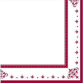 Napkins-BEV-Stafford Ruby 40th Anniversary-36pkg-2ply - Discontinued