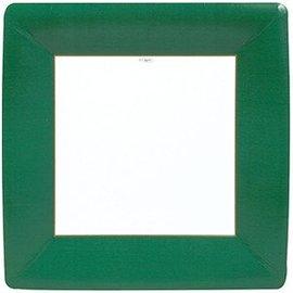Plates LN-Sq/Paper/Emerald Green