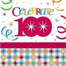 Napkins-LN-Celebrate in Style 100th-16pkg- 3ply - Discontinued