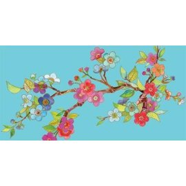Tablecover-Rectangle-Jeweled Branches-54''x108''-Plastic (Discontinued)