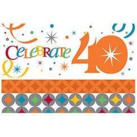 Invitations-Celebrate in Style 40th-8pkg