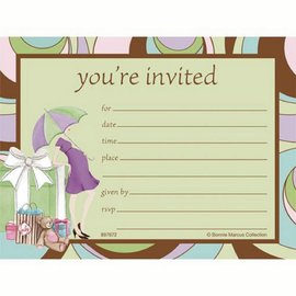 Invitations-Parenthood Baby Shower-8pkg