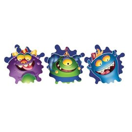 "Cutouts-Monster Mania-3pkg-12"" (Discontinued)"