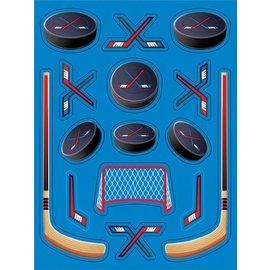 Stickers-Hockey Fanatic-4 Sheets