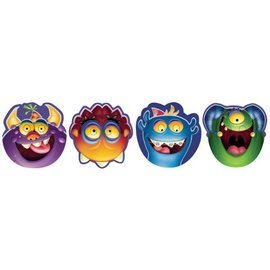 Paper Masks-Monster Mania-8pkg