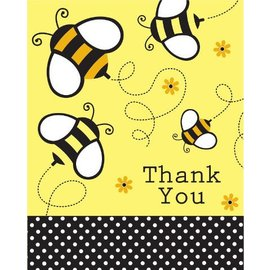 Thank You Cards-Babee Shower-8pkg