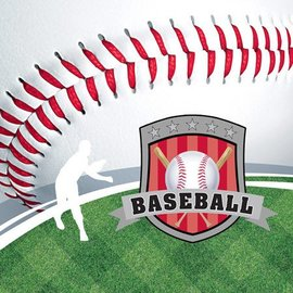 Napkins-LN-Baseball Fanatic-18pkg-2ply