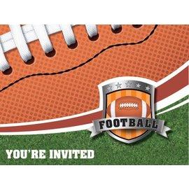 Invitations-Football Fanatic-8pkg