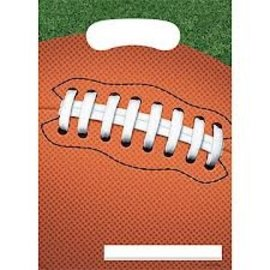 Loot Bags-Football Fanatic-8pkg
