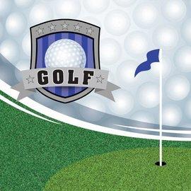 Napkins-BEV-Golf Fanatic-16pkg-3ply