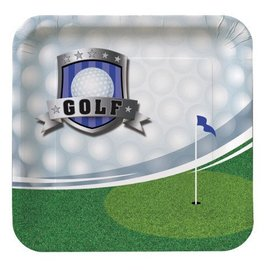 Plates-BEV-Golf Fanatic-8pkg-Paper
