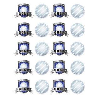 Stickers-Golf Fanatic-4 Sheets