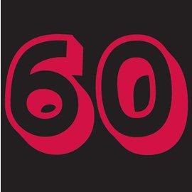 Napkins-BEV-Holy Bleep 60th-16pk-3ply - Discontinued