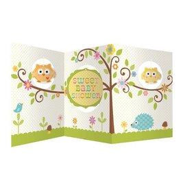 "Centerpiece-Accordion-Happi Tree Baby Shower-1pkg-27"""