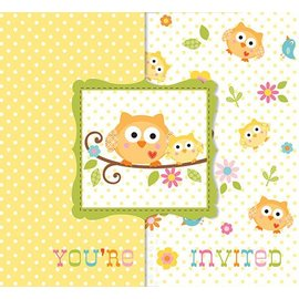 Invitations-Happi Tree-8pkg