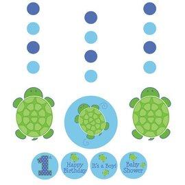 "Hanging Cutouts-Customizable-Mr. Turtle-3pkg-36"""