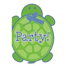 Invitations-Mr. Turtle-8pkg