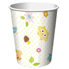 Paper Cups-Happi Tree-8pkg-9oz - Discontinued