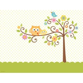 Tablecover-Rectangle-Happi Tree-54''x108''-Plastic -Final Sale