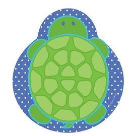 Plates-LN-Mr. Turtle-8pkg-Paper - Discontinued