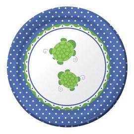 Plates-DN-Mr. Turtle-8pkg-Paper - Discontinued