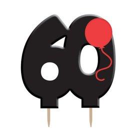 Candle-Holy Bleep 60th Birthday-1pkg