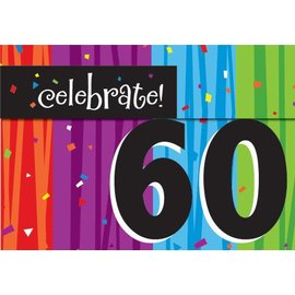 Invitations-Milestone Celebrations 60th-8pkg