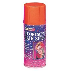 Fluorescent Orange Hair Spray-1pkg-3oz