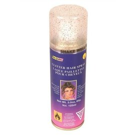 Glitter Red Hair Spray-1pkg-3oz