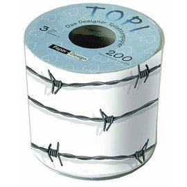 Design Toilet Paper-Barbed Wire-200sheets-3ply