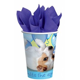 Cups-Party Pups-Paper-9oz-8pk - Discontinued