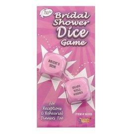 Bridal Shower-Dice Game-2pkg