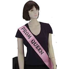 Satin Sash-Prom Queen-1pkg