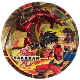Plates-LN-Bakugan-8pk-Paper (Discontinued)