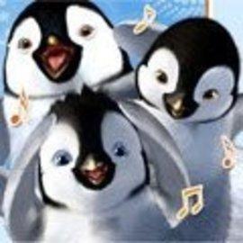Napkins-BEV-Happy Feet-16pk-2ply (Discontinued)