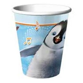 Cups-Happy Feet-Paper-9oz-8pk (Discontinued)