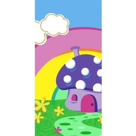 Tablecover-Rectangle-Smurfs-Plastic-54''x102'' (Discontinued)