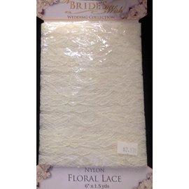 Floral Lace-6'' x 1.5yards