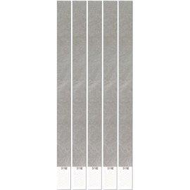 Wristbands- 100Pk- Silver