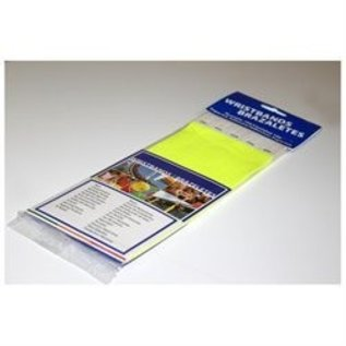 Wristbands-100pk-Neon Yellow