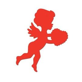 "Cutout-Valentine Cupid-1pkg-18"""