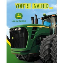Invitations-John Deere-8pkg